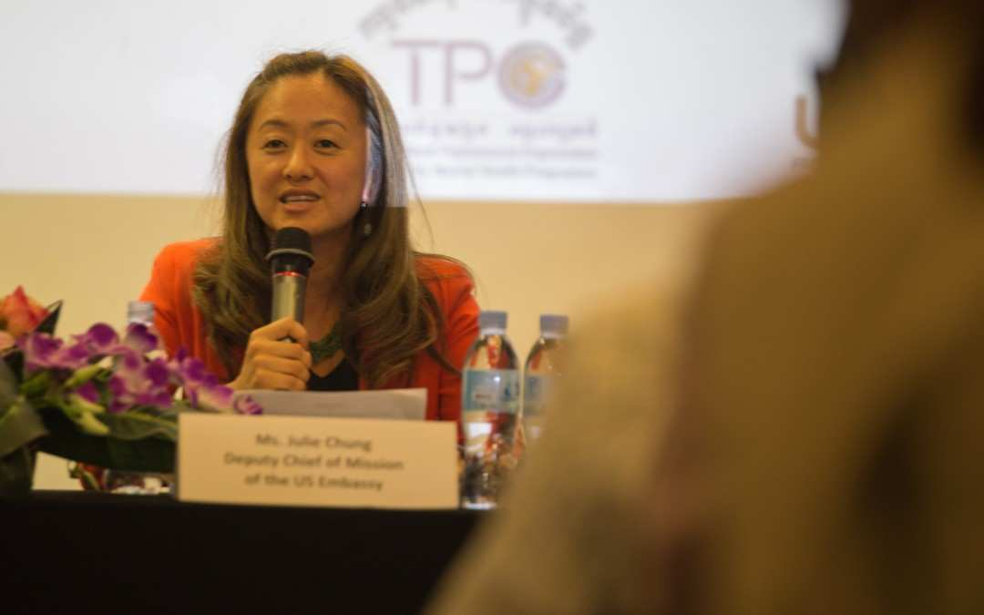 5. Opening remarks by Ms. Jolie Chung, Deputy Chief of Mission of the U.S Embassy