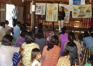 TPO Cambodia works in the communities, with the communities.