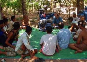Self-Help Groups for men with mental health issues or alcohol abuse, form part of the strategy of this TPO project.