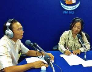 TPO's call-in radio show is the perfect medium to reach a wide local audience with information about trauma incurred during the Khmer Rouge, its ongoing impact, what can be done about it and the proceedings at the ECCC.