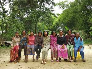 Happy, stronger, healthier – rural women after going through a self-help group program with TPO Cambodia.