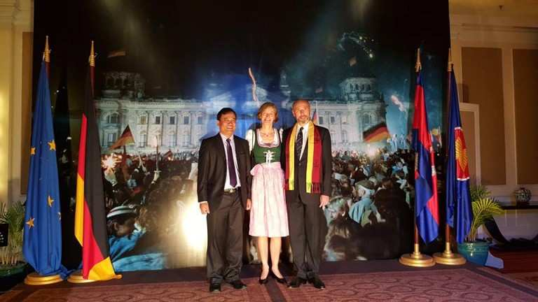 German Ambassador organized fundraising for TPO