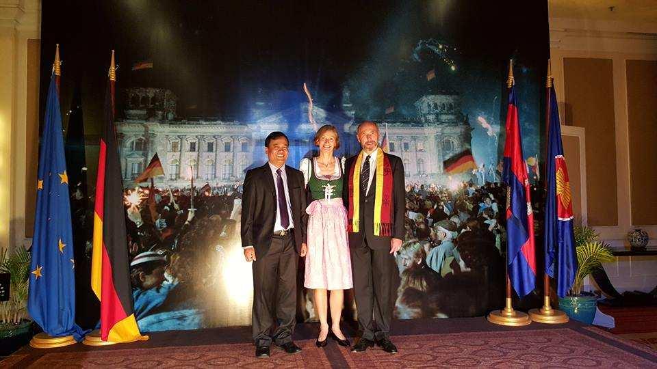 German Ambassador organized fundraising for TPO