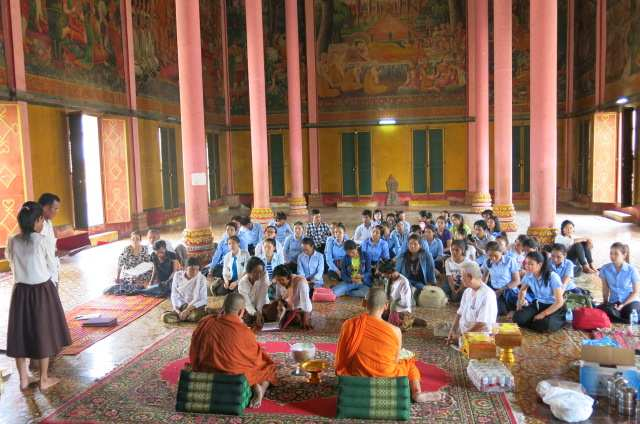 4. Reading Ceremony at Toul Tompong Pagoda