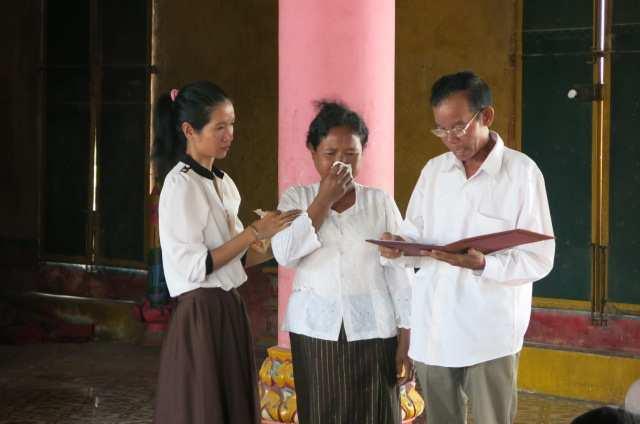5. Reading the summary of the testimony