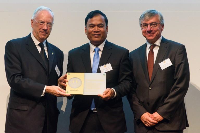 Dr. Sotheara Chhim, TPO's Executive Director wins 2017 Dr. Guislain Award