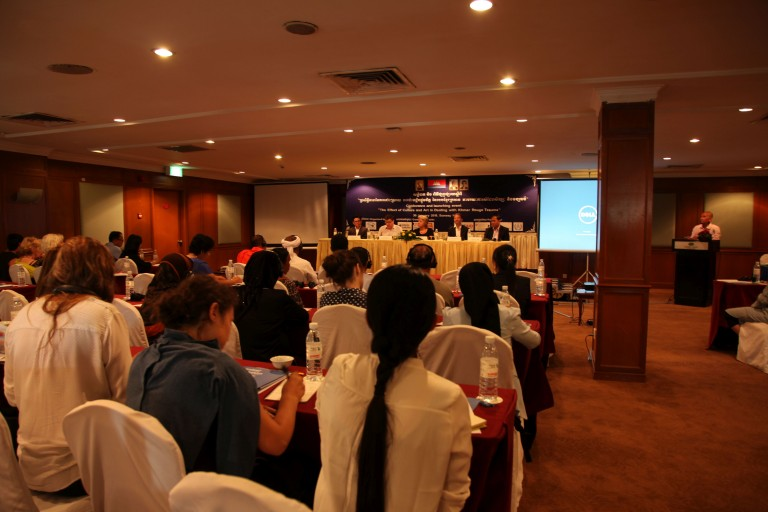 "CONFERENCE AND LAUNCH EVENT ""Effects of Culture and Art in Dealing with Khmer Rouge Trauma"""